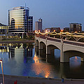 Tempe Town Lake Pano by Dave Dilli
