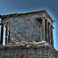 Temple Of Athena Nike by James R Martin