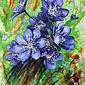 Tenderness Of Spring by Zaira Dzhaubaeva