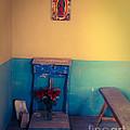 Terlingua Church Offering Print by Sonja Quintero