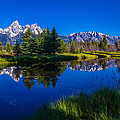 Teton Reflection by Chad Dutson