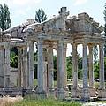 Tetrapylon The Arched Gate Of Aphrodisias by Tracey Harrington-Simpson