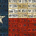 Texas Flag The Lone Star State License Plate Art by Design Turnpike