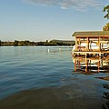 Texas Hill Country Lake by Kristina Deane