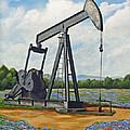 Texas Oil Well by Jimmie Bartlett