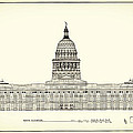 Texas State Capitol Architectural Design by Mountain Dreams
