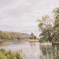 Thames Print by William Bradley