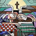 Thank you Jesus When Two Or More Are Gathered Print by Anthony Falbo
