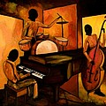 The 1st Jazz Trio by Larry Martin