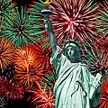 The 4th of July Print by Anthony Sacco