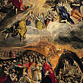 The Adoration Of The Name Of Jesus by El Greco Domenico Theotocopuli