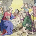 The Adoration Of The Shepherds by German School