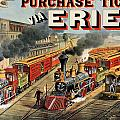 The American Railway Scene  by Currier and Ives
