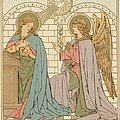 The Annunciation Of The Blessed Virgin Mary by English School