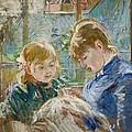 The Artists Daughter by Berthe Morisot