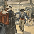 The Assassination Of The Empress by French School