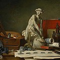 The Attributes Of The Arts And The Rewards Which Are Accorded Them by Jean Baptiste Simeon Chardin