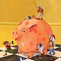 The Bank Robbery by Leonard Filgate