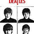 The Beatles No.12 Print by Caio Caldas