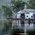 The Boathouse by Bill  Wakeley