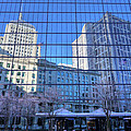 The Boston Skyline by JC Findley