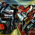 The Budapest String Quartet by Pg Reproductions