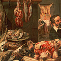 The Butcher's Shop by Frans Snyders