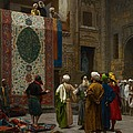 The Carpet Merchant by Jean Leon Gerome