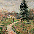 The Chateau At Busagny by Camille Pissarro