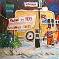 The Christmas Tree Vendor by Michael Litvack