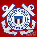 The Coast Guard Shield by Olivier Le Queinec