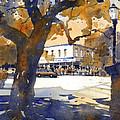 The College Street Oak by Iain Stewart
