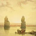The Colossi Of Memnon by David Roberts