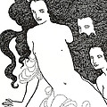 The Comedy Of The Rhinegold by Aubrey Beardsley