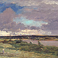 The Coming Storm by Charles Francois Daubigny