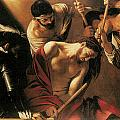 The Crowing With Thorns by Caravaggio