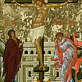 The Crucifixion Of Our Lord by Novgorod School