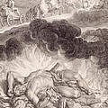The Death Of Hercules by Bernard Picart