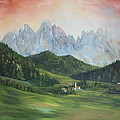 The Dolomites Italy by Jean Walker