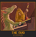 The Duo Print by Leonard Filgate