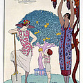 The Earth by Georges Barbier