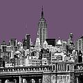 The Empire State Building Plum by John Farnan