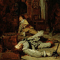 The End Of The Game Of Cards by Jean Louis Ernest Meissonier