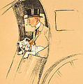 The Extra Passenger Print by Cecil Charles Windsor Aldin