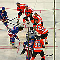 The Faceoff by David Rucker