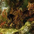 The Fairy Raid by Sir Joseph Noel Paton
