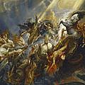 The Fall Of Phaeton by  Peter Paul Rubens