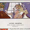 The First Letter by Georges Barbier