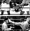 The First Sonny Liston Vs. Cassius Clay by Everett