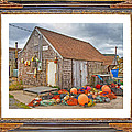 The Fishing Village Scene Print by Betsy A  Cutler